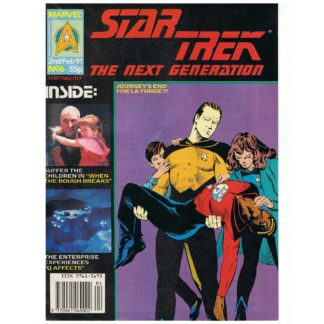 Star Trek: TNG magazine - Issue 6 - 2nd February 1991