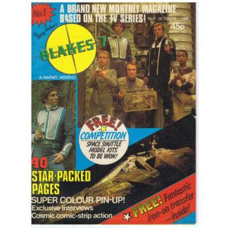 Blakes 7 magazine - October 1981