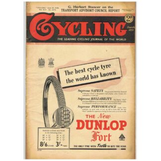 29th June 1938 – Cycling - issue 2474