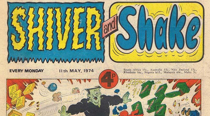 Shiver and Shake comic