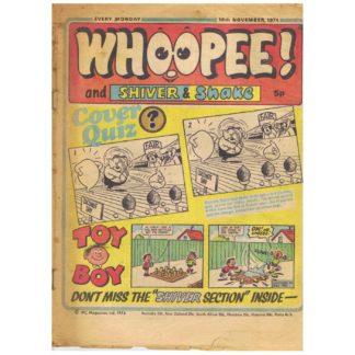 Whoopee! comic -16th November 1974