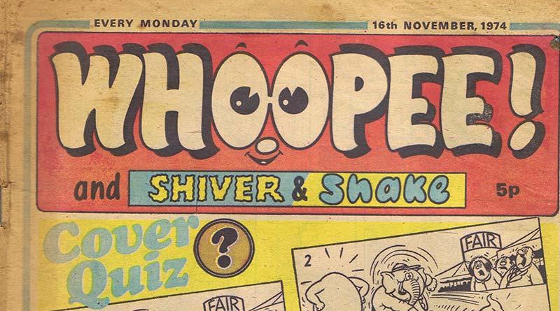 Whoopee! comic