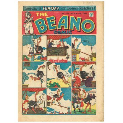 The Beano - issue 279 - 9th March 1946
