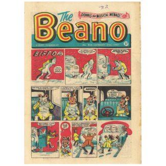The Beano comic - 1961