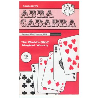 27th February 1982 - Goodliffe's Abracadabra