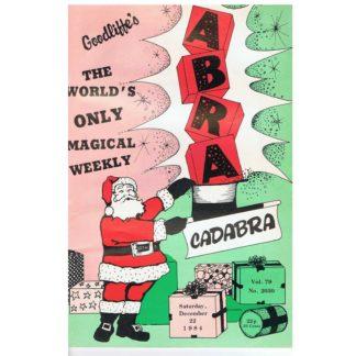 22nd December 1984 - Goodliffe's Abracadabra