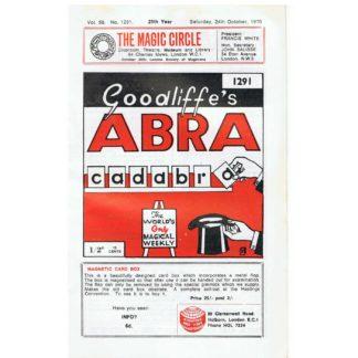 goodliffes-abracadabra-1291-24-october-1970