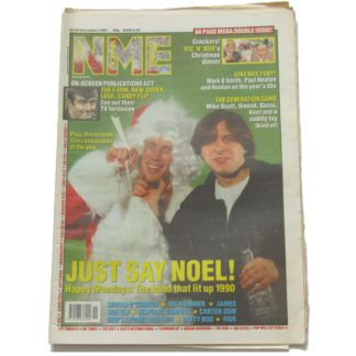 22nd December 1990 – NME (New Musical Express)