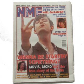 2nd March 1996 – NME (New Musical Express)