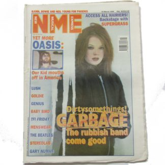 16th March 1996 – NME (New Musical Express)