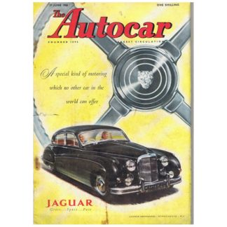 17th June 1960 - Autocar magazine