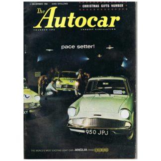2nd December 1960 - Autocar magazine