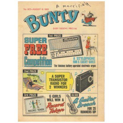 Bunty comic