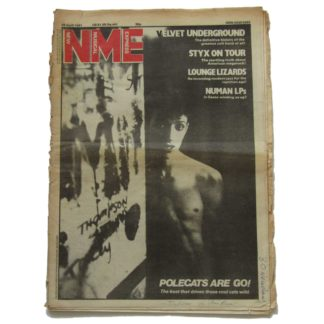 25th April 1981 – NME (New Musical Express)