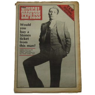 24th April 1976 – NME (New Musical Express)