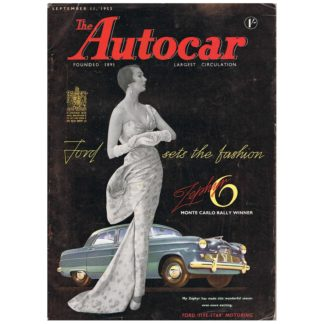 11th September 1953 - Autocar magazine