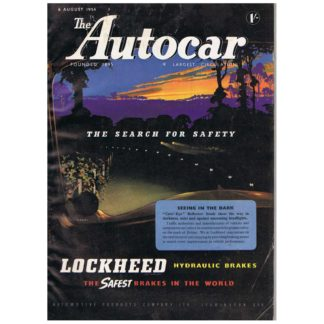 6th August 1954 - Autocar magazine