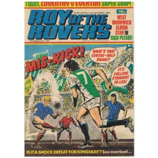 18th December 1982 - Roy of the Rovers