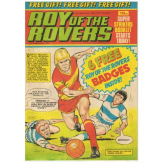 12th February 1983 - Roy of the Rovers