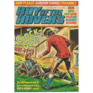 2nd April 1983 - Roy of the Rovers