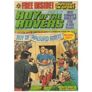 7th May 1983 - Roy of the Rovers