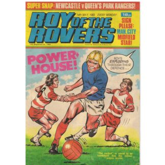 14th May 1983 - Roy of the Rovers