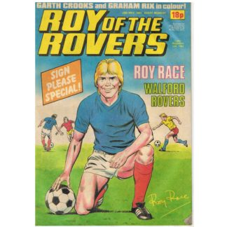 28th May 1983 - Roy of the Rovers