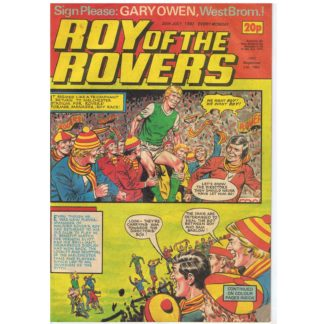 30th July 1983 - Roy of the Rovers