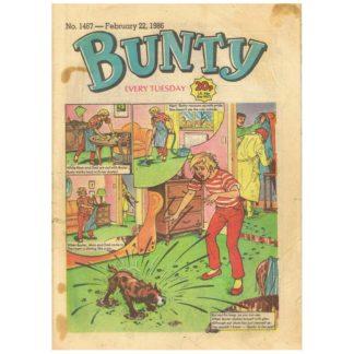 22nd February 1986 - Bunty - issue 1467