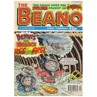 The Beano - 2nd March 1996 - issue 2798
