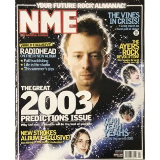 NME ( New Musical Express) - 4th January 2003