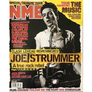 NME ( New Musical Express) - 11th January 2003