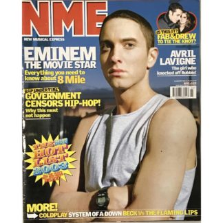 NME ( New Musical Express) - 18th January 2003