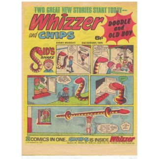 Whizzer and Chips - 2nd August 1975