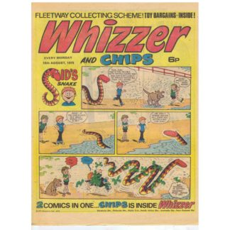 Whizzer and Chips - 16th August 1975