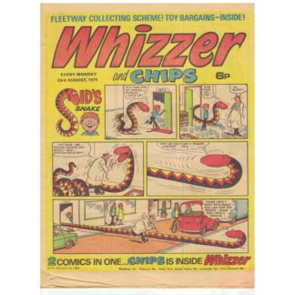 Whizzer and Chips - 23rd August 1975