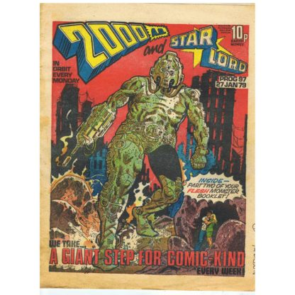 2000 AD and Star Lord - 27th January 1979 - issue 97
