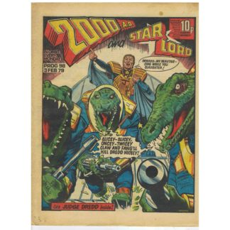 2000 AD and Star Lord - 3rd February 1979 - issue 98