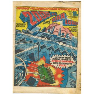 2000 AD and Star Lord - 10th February 1979 - issue 99