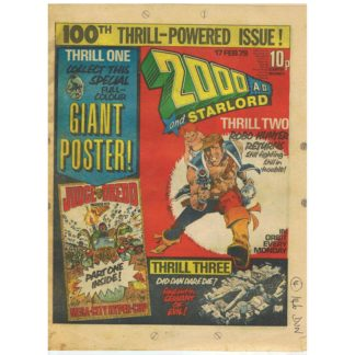 2000 AD and Star Lord - 17th February 1979 - issue 100