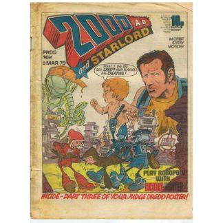 2000 AD and Star Lord - 3rd March 1979 - issue 102
