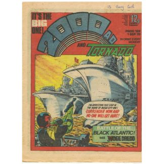 2000 AD and Tornado - 1st September 1979 - issue 128