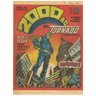 2000 AD and Tornado - 8th September 1979 - issue 129