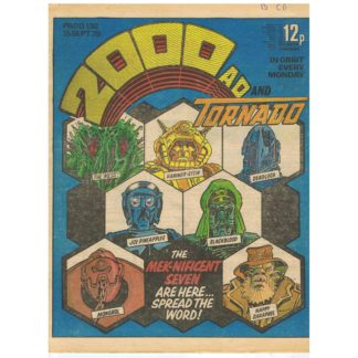 2000 AD and Tornado - 15th September 1979 - issue 130