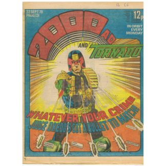 2000 AD and Tornado - 22nd September 1979 - issue 131