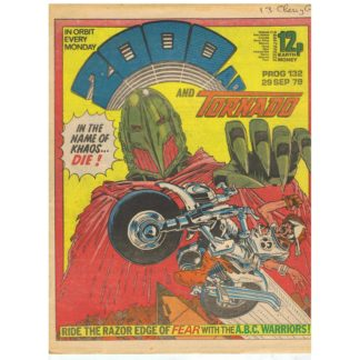 2000 AD and Tornado - 29th September 1979 - issue 132