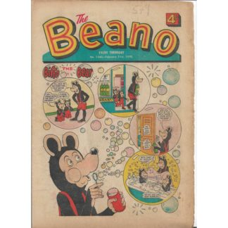 The Beano - 21st February 1970 - issue 1440