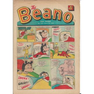 The Beano - 7th March 1970 - issue 1442