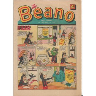 The Beano - 21st March 1970 - issue 1444