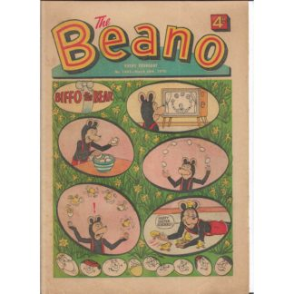 The Beano - 28th March 1970 - issue 1445